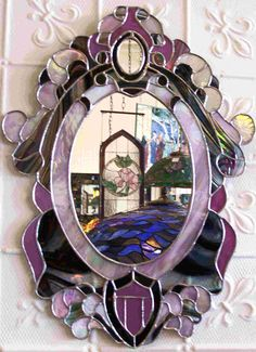 Image detail for -Glass Goddess Stained Glass Studio :: Mirrors
