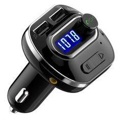 VicTsing Bluetooth FM Transmitter for Car Wireless Radio Transmitter Adapter with USB Charger Music Player Support Aux Output TF Card and U-Disk Hands Free for iPhone Samsung Smartphones Radios, Ipod, Musik Player, Mp3 Player, Bluetooth Car Kit, Bluetooth Gadgets, Smartphone, Usb Stick, Usb Drive