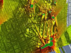 SOM : Digital Model of San Francisco Featured in SPUR Urban Cartography Exhibition