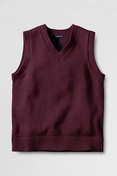 Women's Plus Size Lofty Shaker Sweater Vest from Lands' End ...