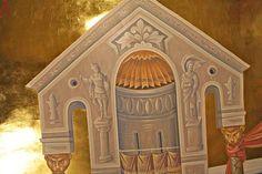 Алексей Сергеевич Вронский | Екатеринбург, Ново-Тихвинский монастырь Byzantine Icons, Fresco, Style Icons, Taj Mahal, Medieval, Saints, Building, Illustration, Painting