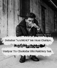 66 Best Attitude Quotes in Urdu Hindi Attitude Quotes, Attitude Quotes For Boys, My Attitude, Positive Attitude, Strong Quotes, True Quotes, Psych Quotes, Swag Quotes, Bad Boy Quotes