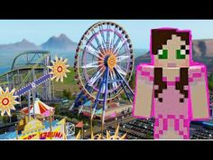 [Popularmmos - Minecraft ] PAT AND JEN IN FUN TIME PARK - SUPER MAGIC RAINBOW DROPPER [3] - YouTube