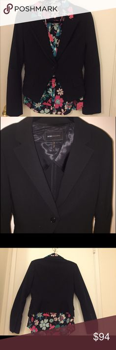 BCBGMaxAztia Tuxedo style Blazer Black tuxedo style blazer, one button closure. Sleeves are slightly flare with five buttons that can be worn open. Blazer is new without tags.*shirt not included BCBGMaxAzria Jackets & Coats Blazers