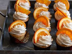 Get Hefeweizen Orange Cupcakes Recipe from Food Network