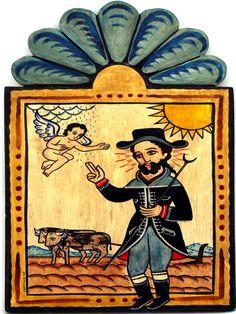 San Ysidro by New Mexico Santero Charlie Carillo