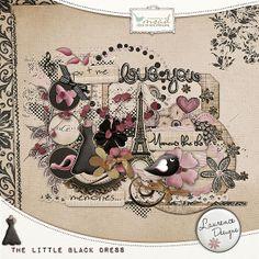 The Little Black Dress  [LDTheLittleBlackDress] €3.50My Scrap Art Digital, Passion for Digital Scrapbooking