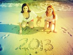 Senior pictures at the beach...with your best friend!