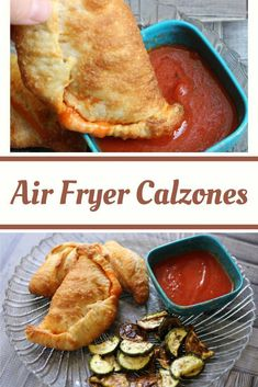 The BEST Air Fryer Calzones! (can also be made in the oven!) - The BEST Air Fryer Calzones! (can also be made in the oven! Air Fryer Recipes Wings, Air Fryer Recipes Appetizers, Air Fryer Recipes Snacks, Air Fryer Recipes Low Carb, Air Fryer Recipes Vegetarian, Air Fryer Recipes Breakfast, Air Frier Recipes, Air Fryer Dinner Recipes, Cooking Recipes
