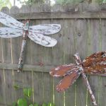 Are you a fan of dragonflies and butterflies?  How about repurposing?   If so, you don't want to miss this DIY dragonfly from upcycled materials by Lucy Designs.  Go see how Lucy uses various pieces of leftover hardware and found objects for eyes and antennae, and paints/ distresses the wings with c