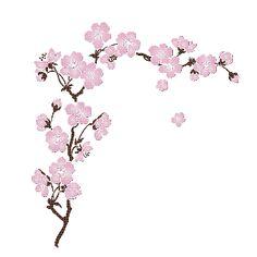 branche de cerisier en fleur                                                                                                                                                     Plus
