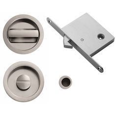 Manital sliding door bathroom turn and release lock set. Includes the turn set, hook mortice lock and small finger pull. Available in polished chrome, brushed chrome and brushed nickel Pocket Door Hardware, Pocket Doors, Sliding Door Systems, Sliding Doors, Carlisle Brass, Flush Doors, Lock Set, Door Sets, Door Locks
