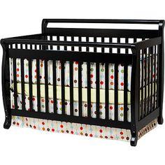 Baby Mod - Lily 4-in-1 Crib, Ebony