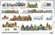 Theme+Park+Design+Model | ... theme park. Shown here are examples from various artwork for