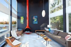 Waterfront Residence in Seattle