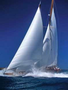 Sails to the wind!!! LOVE this photograph - the wind, the sails, freedom