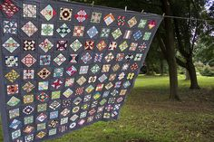 Farmer's Wife quilt top by quirky granola girl, via Flickr