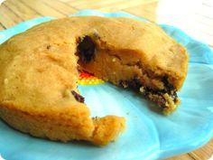 recipe remake: individual peanut butter chocolate chip cookie cake. | girl meets life.