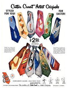 Vintage Men's Tie History