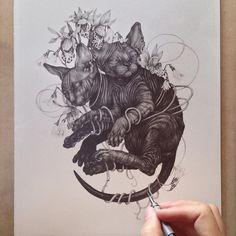 Finishing strokes! / Zoe Keller