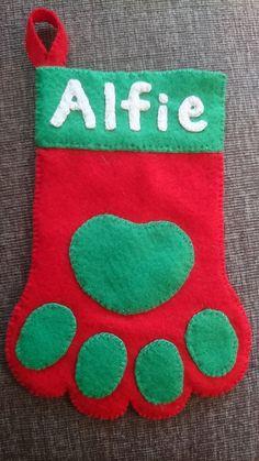 Christmas sock for my dog ❤
