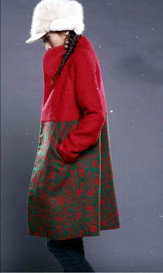 Cute red coat ($416)