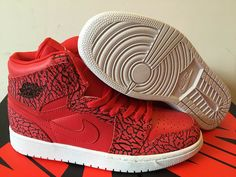 cc046ef8bb01 Authentic Cheap Air Jordan 1 Fast Shipping Authentic Cheap Air Jordans Retro  1 Red White Nike Zoom Shoe for Men