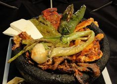 Molcajete recipes with meat
