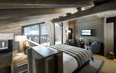 Alpaga- 5-STAR HOTEL MEGEVE - LUXURY HOTEL ROCHEBRUNE SKI RESORT