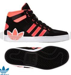 Cute adidas hight tops