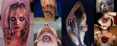 Impresionantes tatuajes que dan miedo