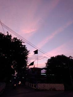 Sky. #sky #pinksky