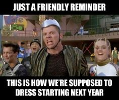 Fashion designers, get to it…Back to the future:)