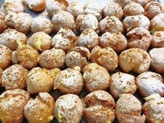 Buñueño relleno de Crema. Soles de Gredos. último día para disfrutar del producto estrella de estas fechas.