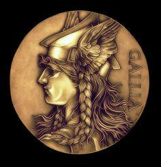 Goddess of Gaul by TheNightGallery.deviantart.com on @DeviantArt