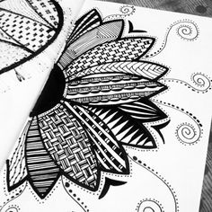 Artwork today. Kilig. :) #Zentangle #zentangleart #ZenDoodle