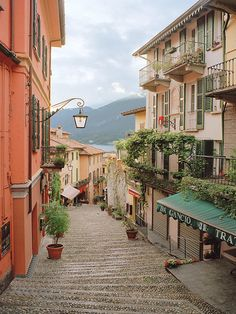 Bellagio Stairs, Bellagio, Italy