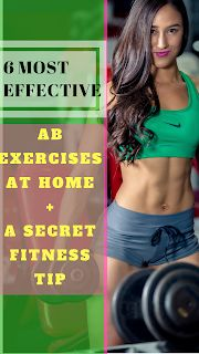 Her Fitness Fight : List of top 6 ab exercises at home for women