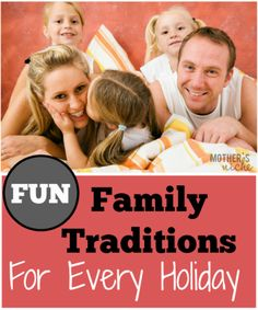 What a FABULOUS collection of ideas for traditions! Kids birthdays, everything!
