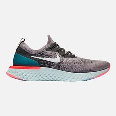 d4461302a8c8 Right view of Men s Nike Epic React Flyknit Running Shoes Nike Men