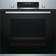 Buy Bosch Built-In Single Electric Oven, A Energy Rating, Stainless Steel from our Built in Ovens range at John Lewis & Partners. Free Delivery on orders over Built In Electric Oven, Single Electric Oven, Single Oven, Four Pyrolyse, American Style Fridge Freezer, Stainless Steel Oven, Ovens, Crystals, Gera
