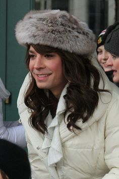 When you realize Jimmy Fallon makes a pretty girl - fromTumblr