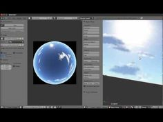 Blender Tutorial - Making a SkyDome - YouTube