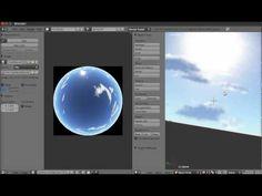 Blender Tutorial - Making a SkyDome