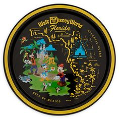A souvenir tray.   33 Magical Disney Decorations You Need In Your Life