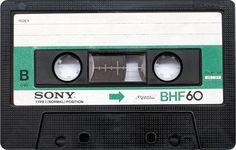 Sony analog audio tape cassette nostalgia - tapedeck.org