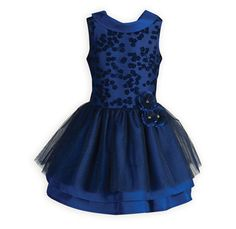 Royal sleeveless drop-waist dress with elegant shawl collar dips to a slight V in back. Girls Holiday Dresses, Girls Special Occasion Dresses, Dresses For Tweens, Girls Party Dress, Holiday Outfits, Girls Dresses, Simple Flower Girl Dresses, Little Girl Dresses, Clothes For Sale