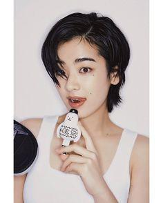 Korean Short Haircut, Asian Short Hair, Asian Hair, Girl Short Hair, Short Hair Cuts, Pixie Cuts, My New Haircut, Pixie Haircut, Tomboy Hairstyles