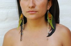 wish I could get back in the habit of earrings...I love this