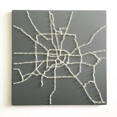 Houston kaart kunst Houston Houston kaart kaart kunst